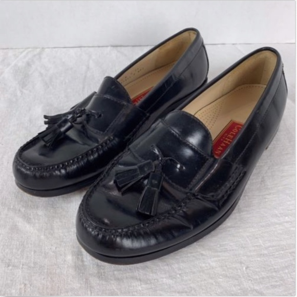 9718ce7fe89 Cole Haan Other - Cole Haan City Pinch Tassel Loafers Shoes Moc Toe